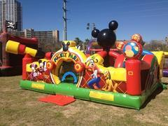 Mickey Park Learning Club obstacle