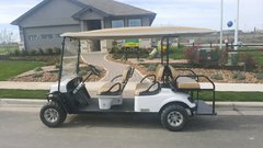 Golf cart - 6 person gas