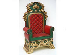 a - Santa Claus chair