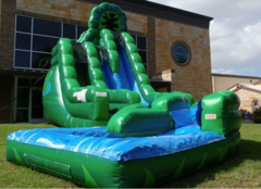 Emerald Ice Water slide