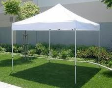 10'x10' popup tent (renter to setup)