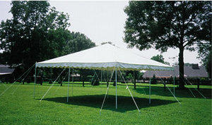 Frame tent 10'X10'
