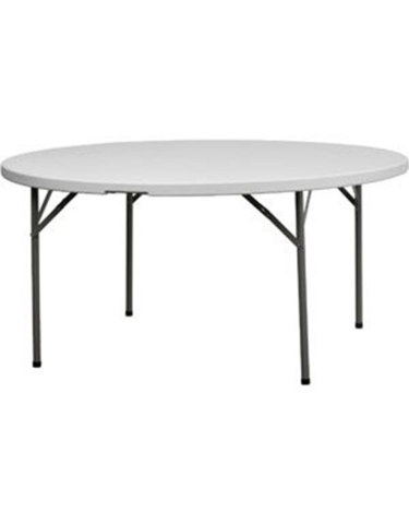 6 Foot Round Table