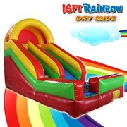 16Ft Rainbow Dry Slide