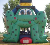 Frog Bounce House