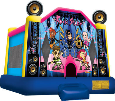 Rock Stars Bounce House