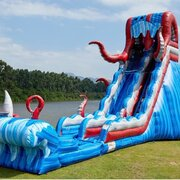 21Ft High Ocean Battle Water slide