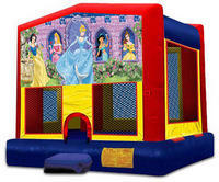 Disney Princess Bounce House Rental Carmichael