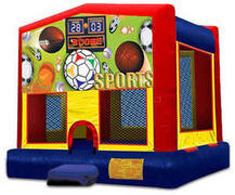 Sports Themed Bounce House Rental