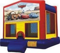 Cars Bounce House Rental Rancho Cordova