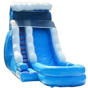 18 feet Blue Wave Water slide