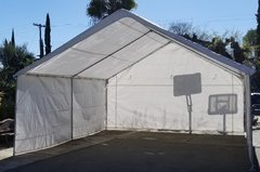 20 x 20 Tent / Canopy rental. Dimensions are in feet