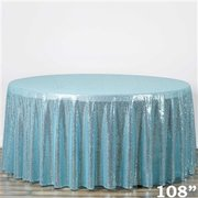 Round Sequin tablecloth