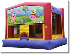 1A-Sponge Bob Bouncy House