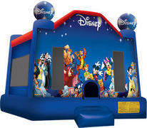 11-World of Disney Jumpy House