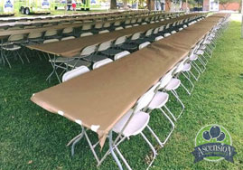table and chair rentals baton rouge