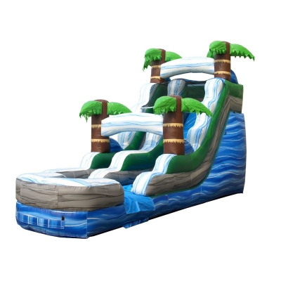 15ft Luau Water Slide