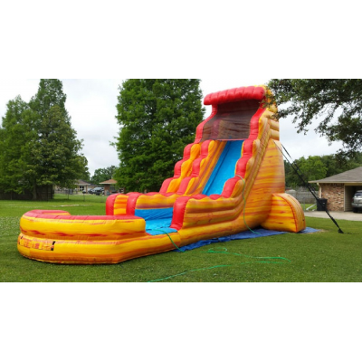 22ft Fireball Water Slide
