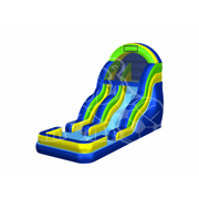 18' Party Wave Water Slide