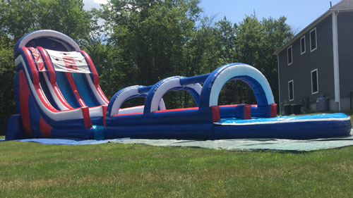American Dream Water Slide with Dual Lane Slip and Slide