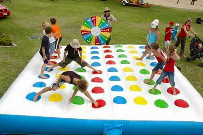 Giant Inflatable Twister Game