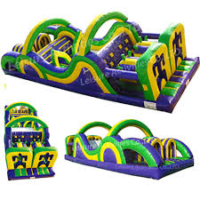 Radical Run 35 Obstacle Course Inflatable