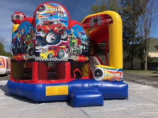 Off Road Racing 5 In 1 Combo Bounce House Rental