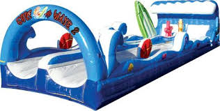 Surf the Wave Dual Lane Slip and Slide