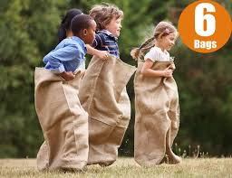 Potato Sack Race Is Fun!