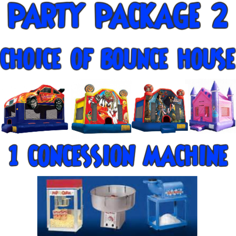 Bounce House Concession Package