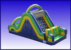 Radical Run Rock Climb Obstacle Slide