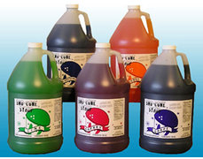 Sno Cone Syrup Gallon - Grape