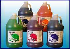 Sno Cone Syrup Gallon - Blue Raspberry