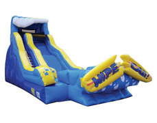 Wipe Out Water Slide Package