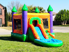 Crayon Combo Wet or Dry Bounce House