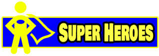 Super Hero themed inflatables and party game rentals in Austin Texas from Austin Bounce House Rentals