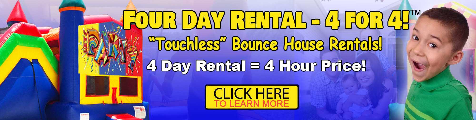 Four Day Bounce House Rentals