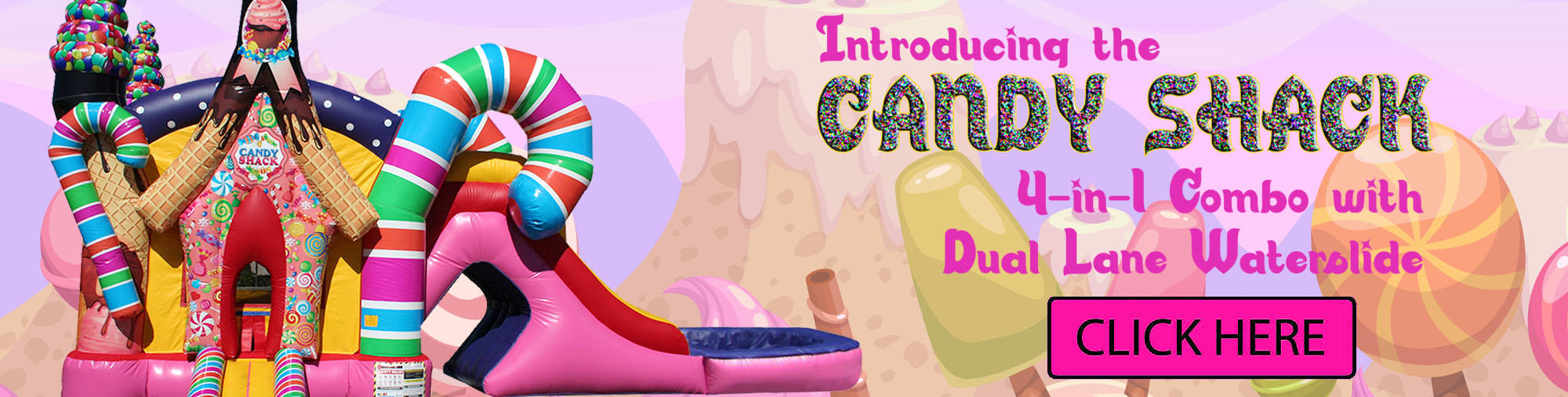 Candy Shack Candyland Combo Rentals