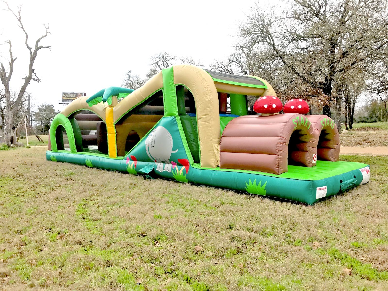 Exteme Obstacle Course rental in Austin Texas from Austin Bounce House Rentals