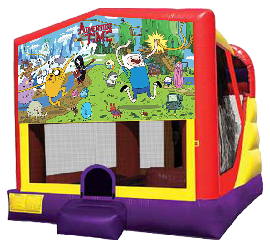 Adventure Time 4-in-1 Combo rentals in Austin Texas by Austin Bounce House Rentals