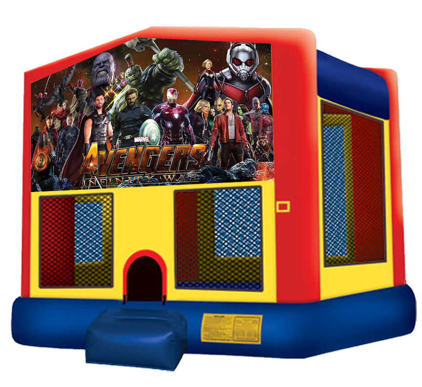 Avengers Infinity War Bounce House from Austin Bounce House Rentals in Austin Texas