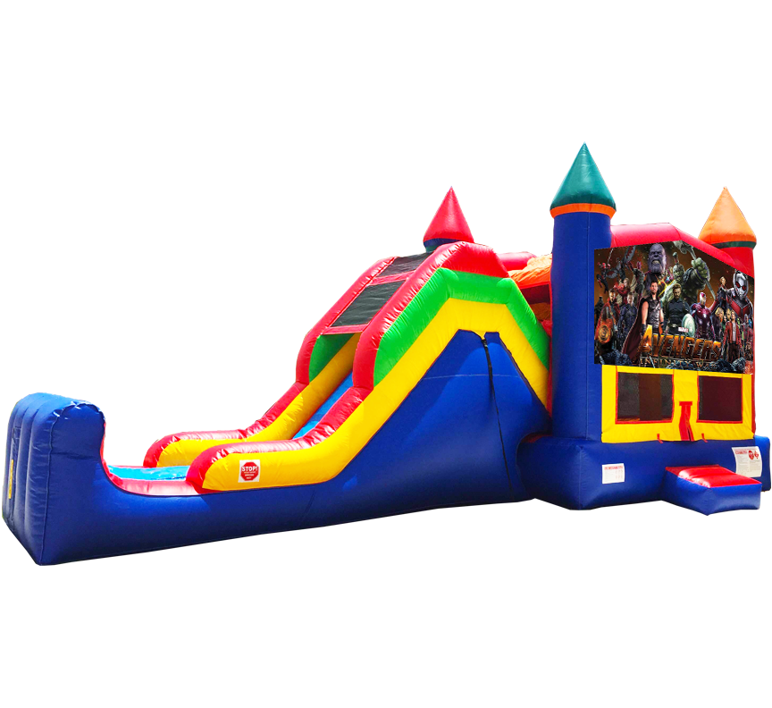 Avengers Infinity War Super Combo Rental in Austin Texas from Austin Bounce House Rentals