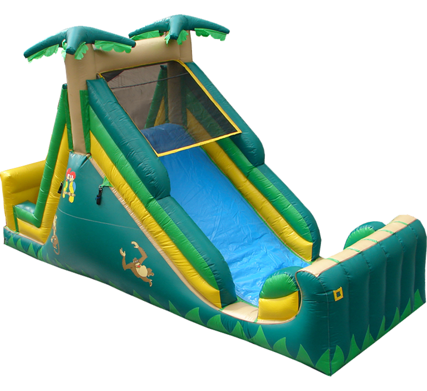 15 Foot Backyard Slide in Austin Texas from Austin Bounce House Rentals