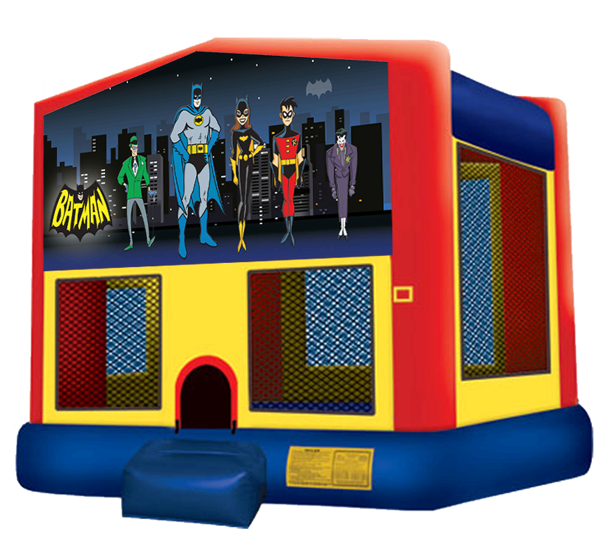 Batman Bounce House Rentals in Austin Texas from Austin Bounce House Rentals