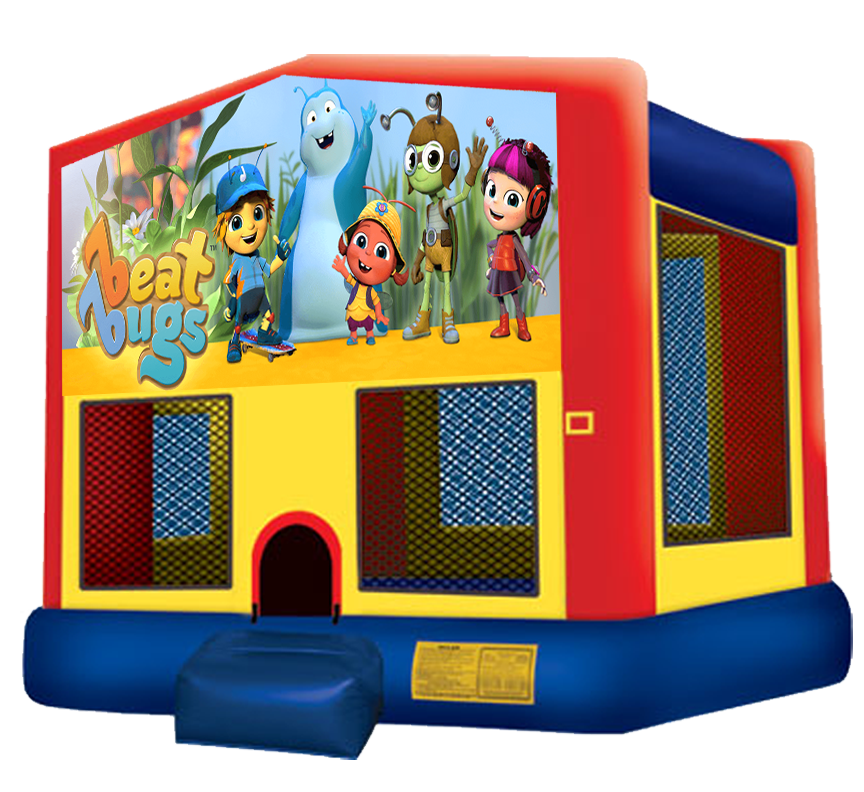 Beat Bugs Bounce House Rental in Austin Texas