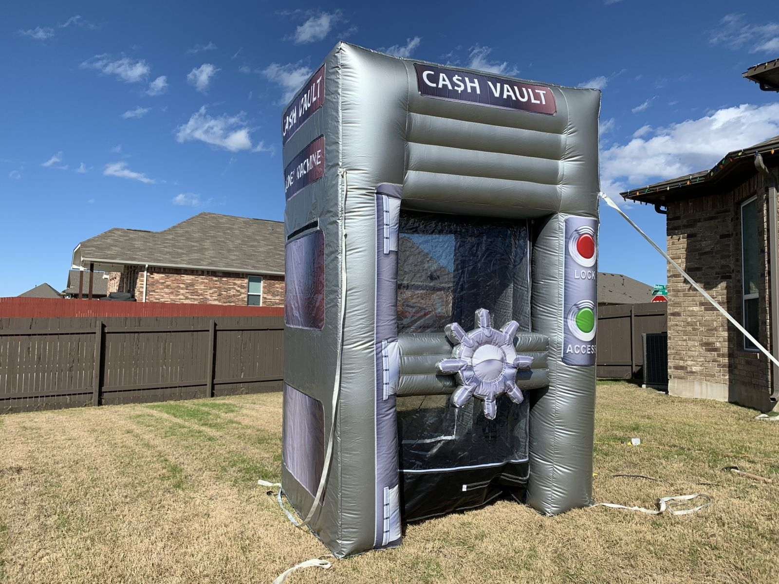 Cash Cube Rental in Austin Texas from Austin Bounce House Rentals