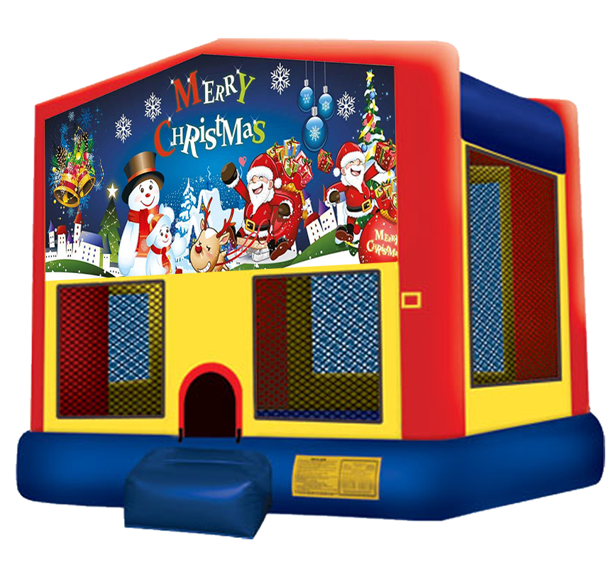 Christmas Bounce House Rentals in Austin Texas from Austin Bounce House Rentals