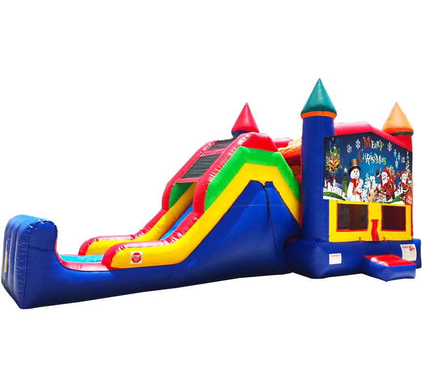 Christmas Super Combo Rentals in Austin Texas from Austin Bounce House Rentals