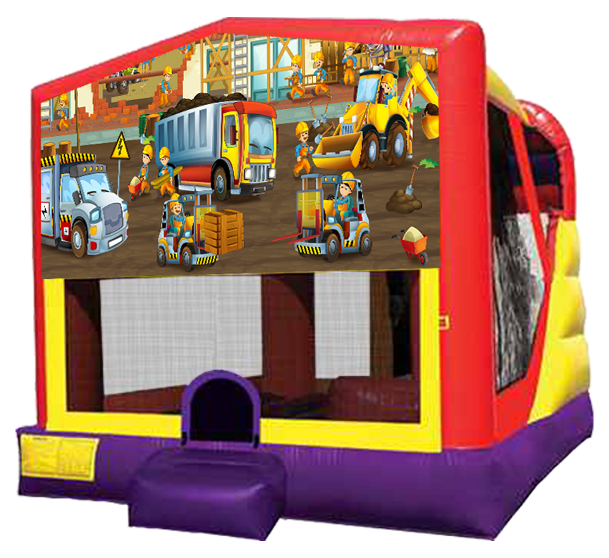 Construction XL Combo Rental in Austin Texas from Austin Bounce House Rentals
