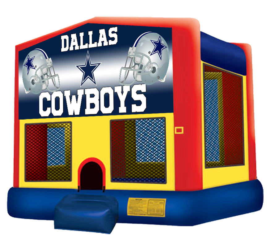 Cowboys Bounce House rentals from Austin Bounce House Rentals (512) 765-6071